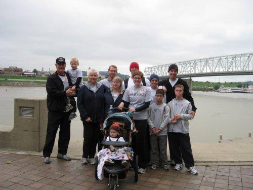 2009 Buddy Walk with the Meyers - Bekins Family
