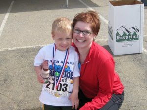 Henry and I at the Tri for Joe benefiting the DSAGC